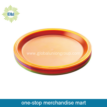 Wholesale Colorful Big Dinner Plate